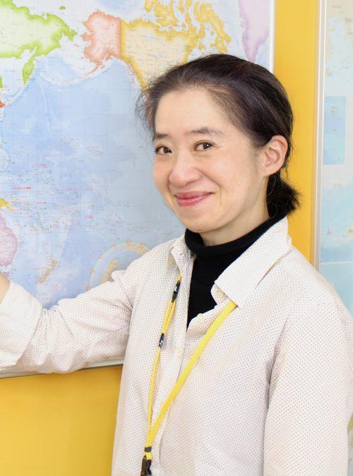 北見磨也子 japanese teacher in tokyo japan