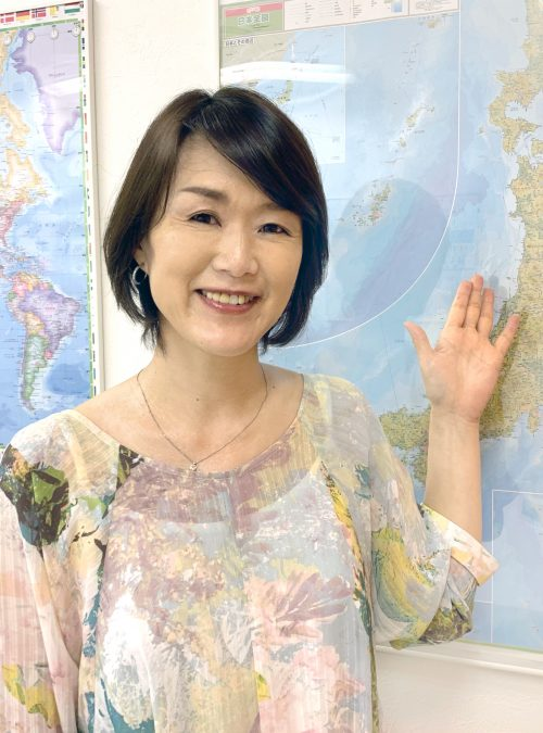 Kaori Shiigi 椎木香織 japanse english teacher in tokyo japan