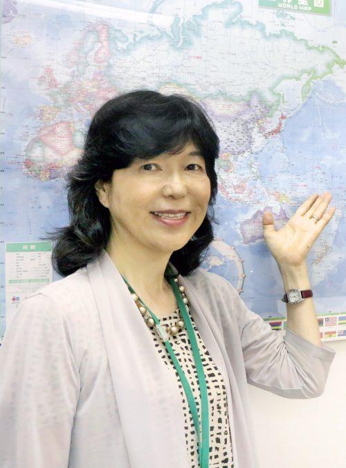 木崎雅子 Kizaki Masako japanese english teacher tokyo japan